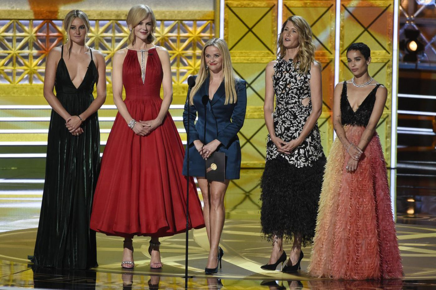 The age of uber-stylization is over, per this year's Emmy red carpet