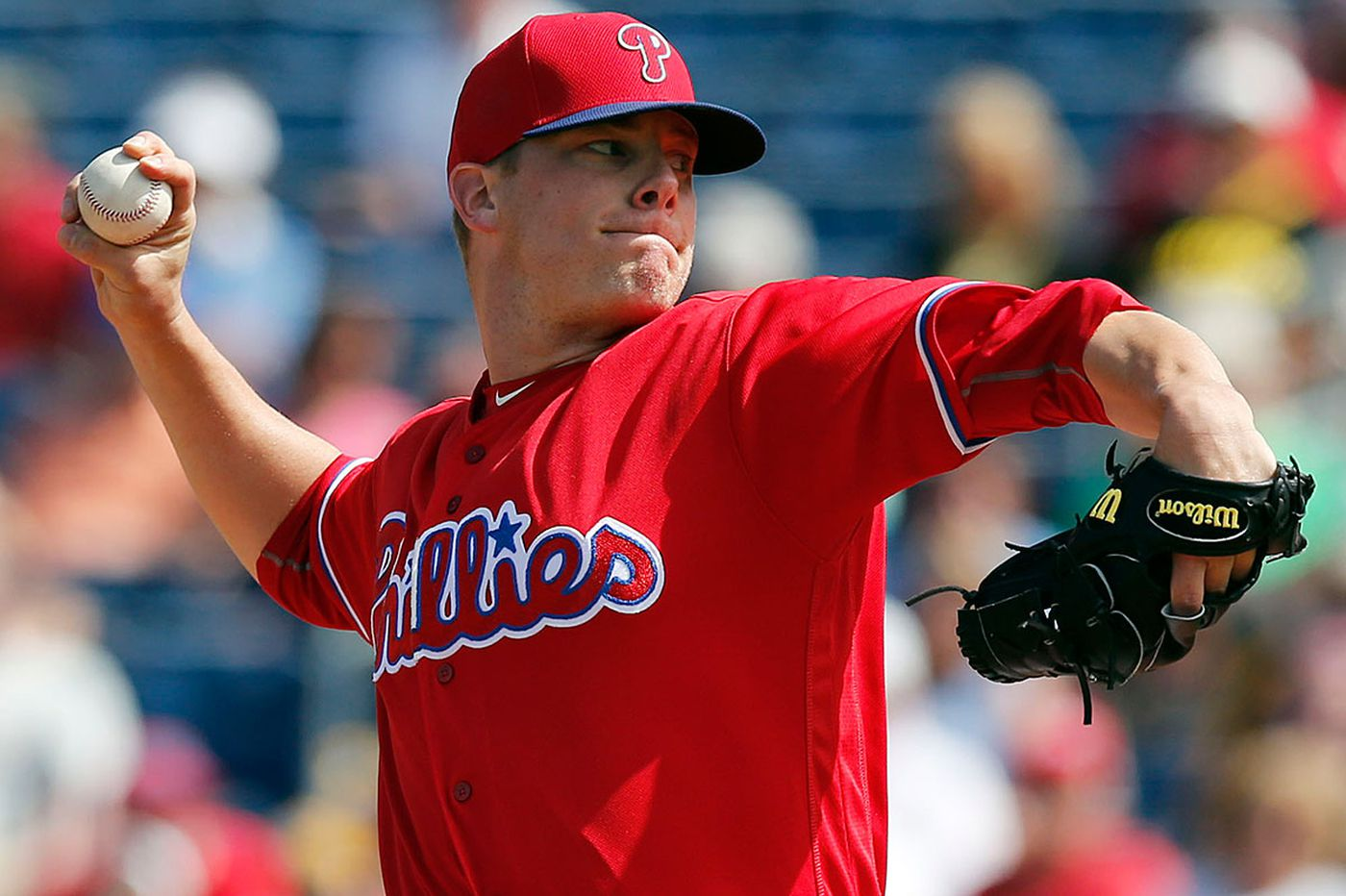 Bailey making pitch to be Phillies closer