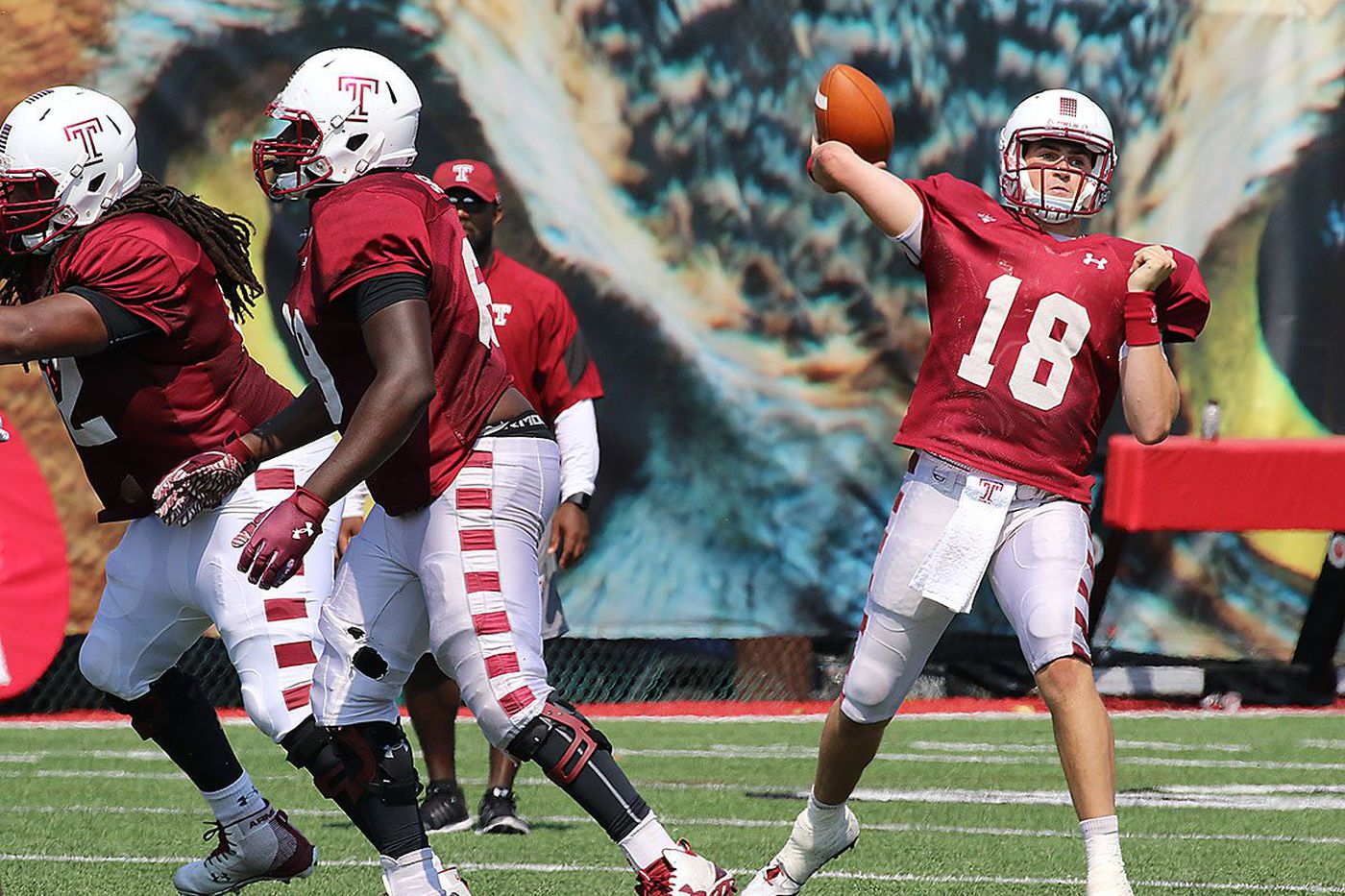 Frank Nutile to again start at QB for Temple