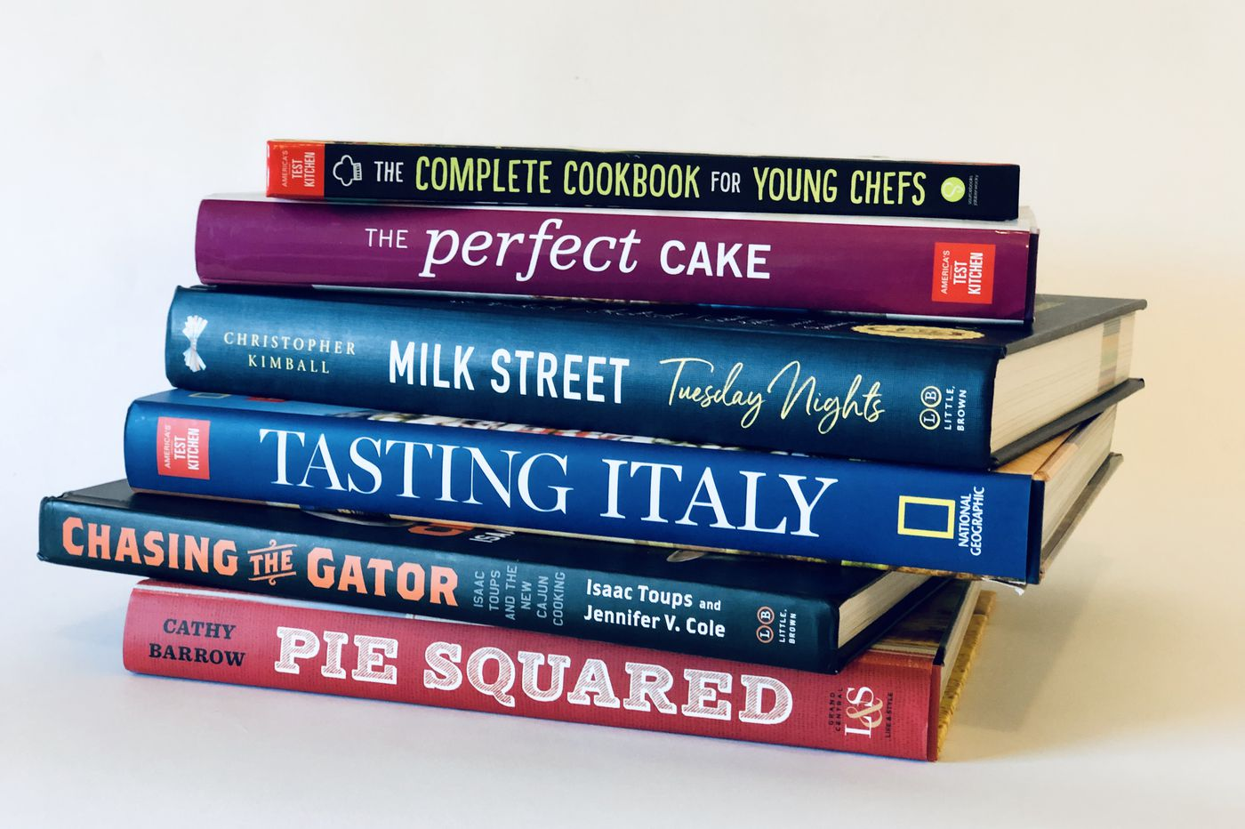 Recommendations for cookbooks to comfort, teach, and bring sweetness