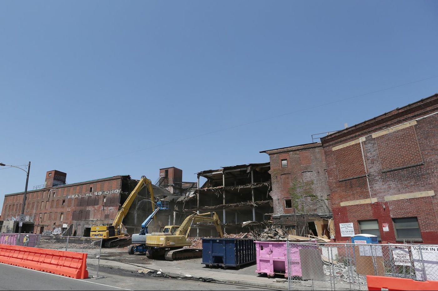 What's the connection between a Philly blogger and the demolition of the Washington Ave. chocolate factory? | Inga Saffron