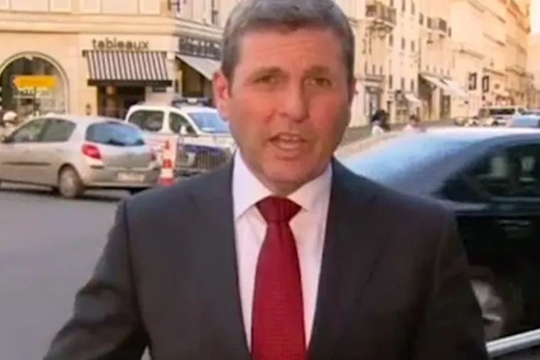 """Australian reporter Chris Uhlmann's commentary about President Trump – a man with """"no desire and no capacity to lead the world"""" – quickly went viral following the G20 summit in Germany."""