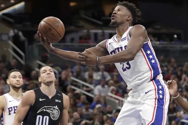Sixers' star Jimmy Butler is excited about his first home game.