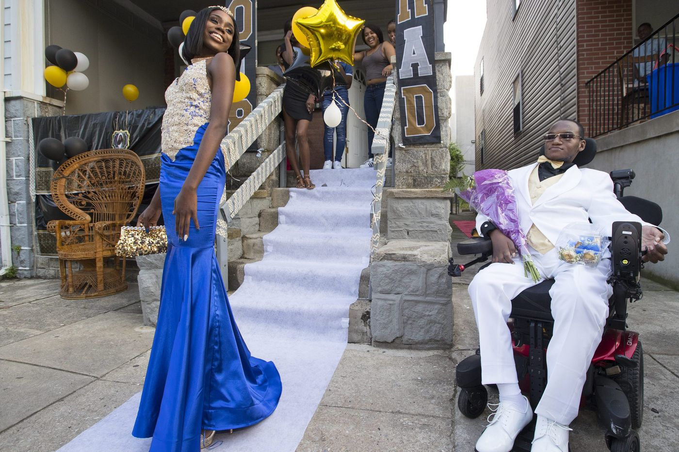 Gunshot victim goes to prom, with the help of Magee Rehab | Helen Ubiñas