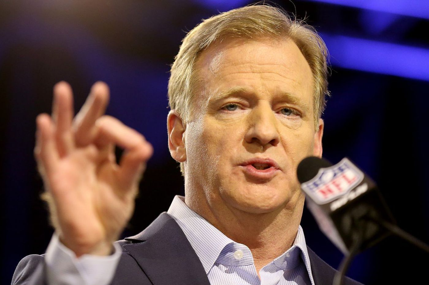 Roger Goodell puts happy spin on difficult year for NFL | Bob Brookover
