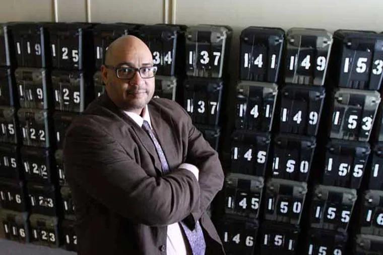 Pa. Secretary of Corrections John Wetzel at the Harrisburg Community Corrections Center in Harrisburg on April 24, 2013.