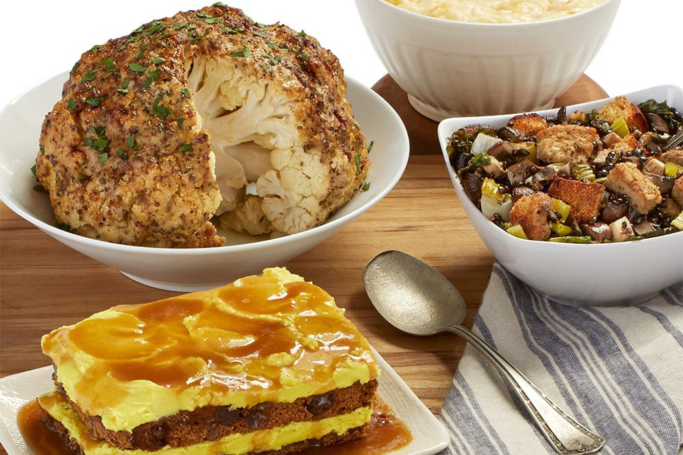 Vegan Thanksgiving dinners from Vedge at Whole Foods