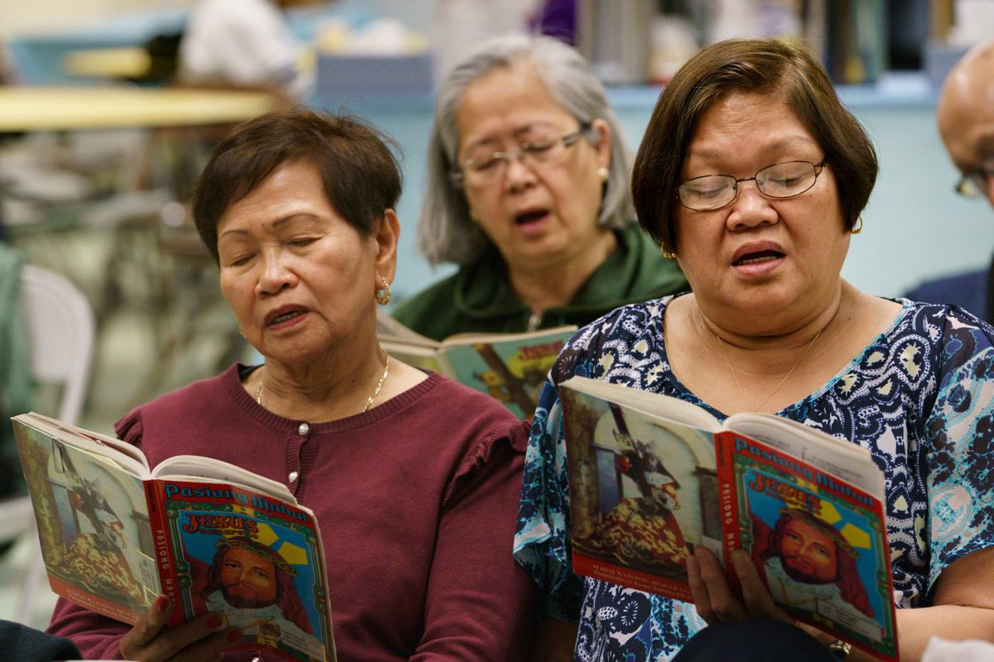 In Good Friday marathon, Philly's Filipino Catholics can't stop singing about Jesus