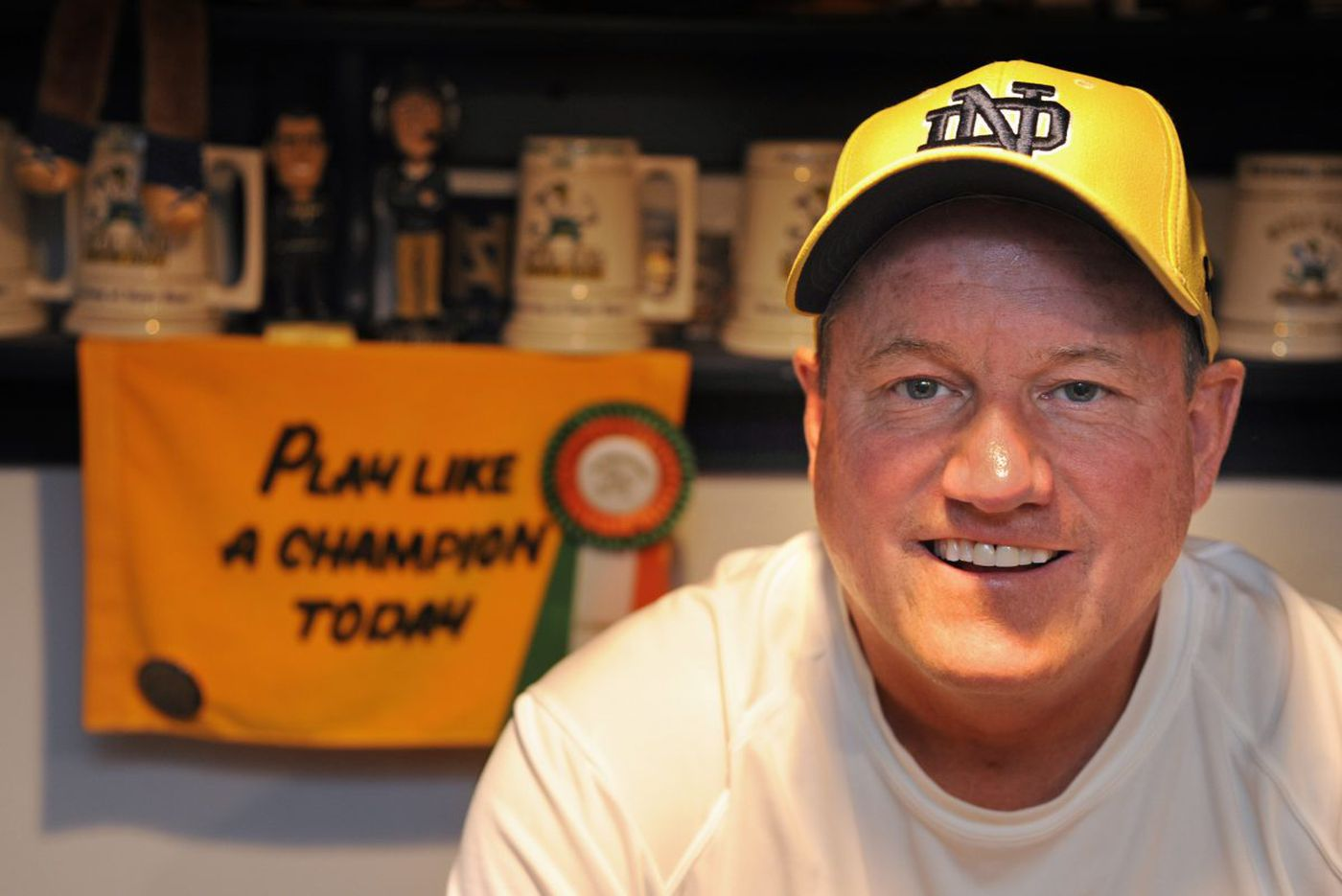 Next step for Irish superfan 'Notre Dame Harvey' is finally here