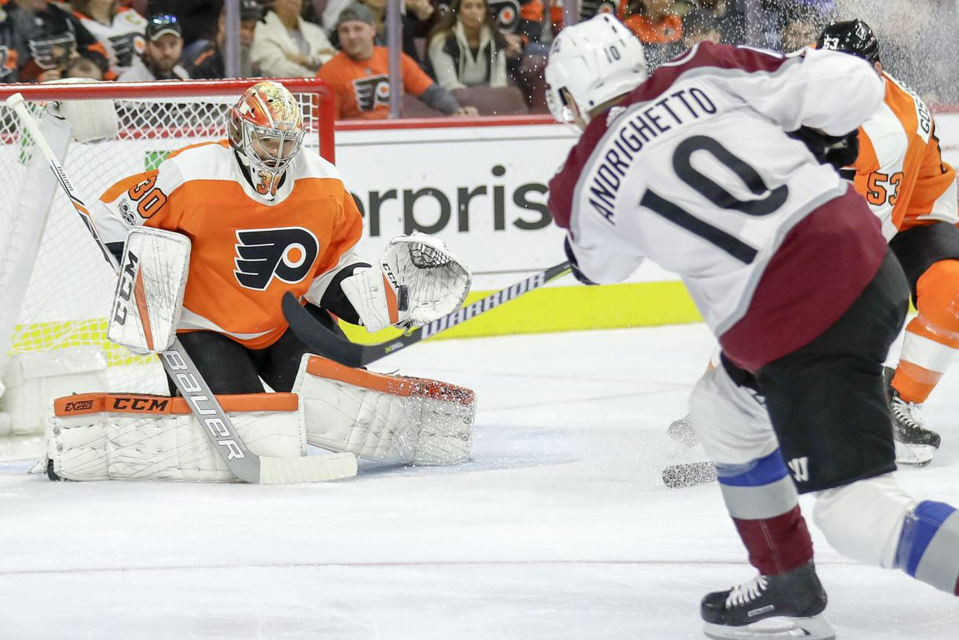 Tough luck and miscues too much for Flyers to overcome