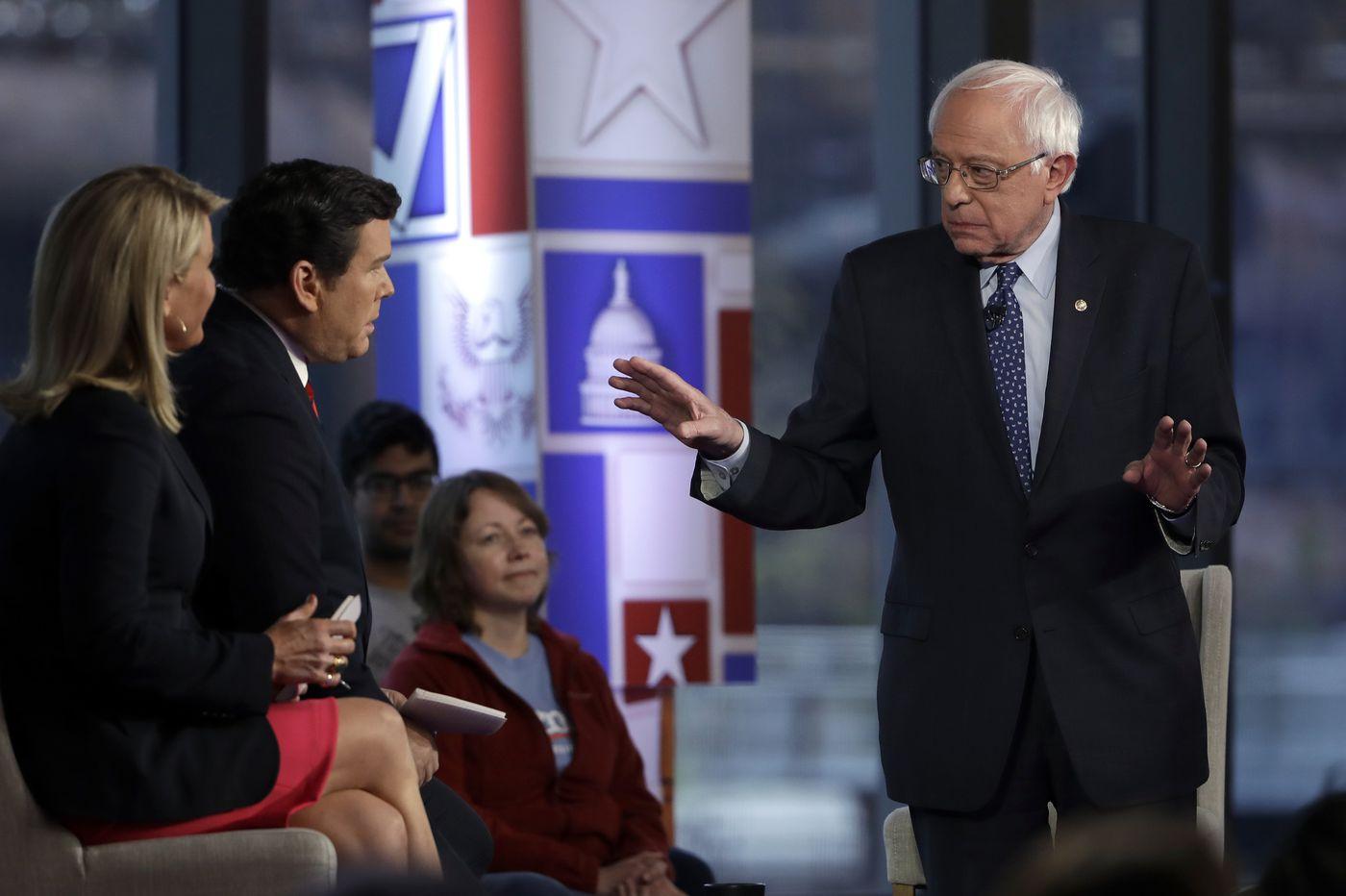 Bernie Sanders needs Fox News to court Trump voters   Marc Thiessen