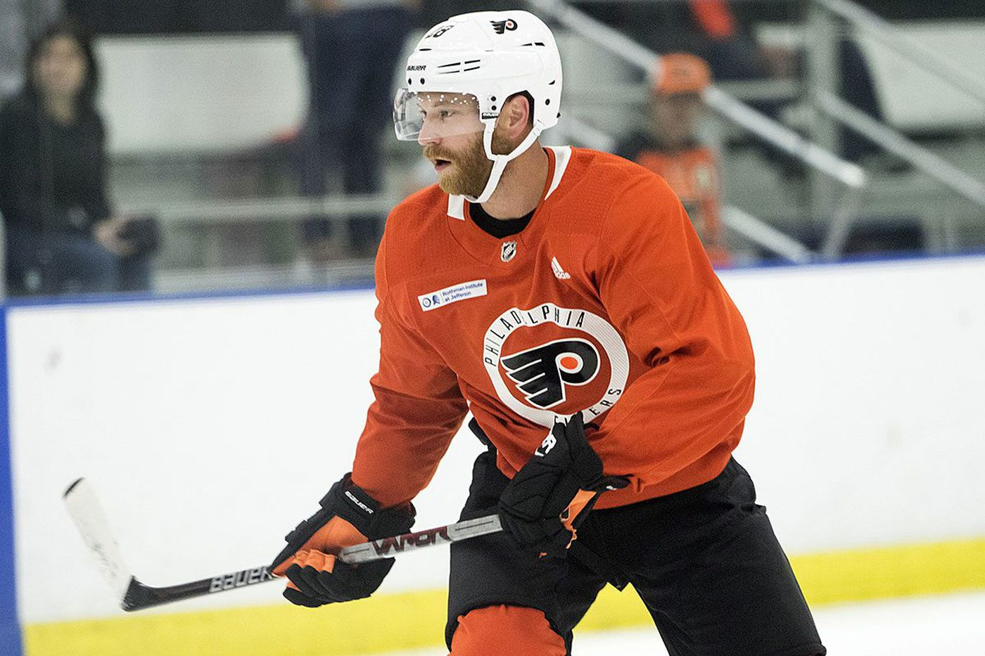 Claude Giroux experiment on hold; Flyers set lineups for exhibitions