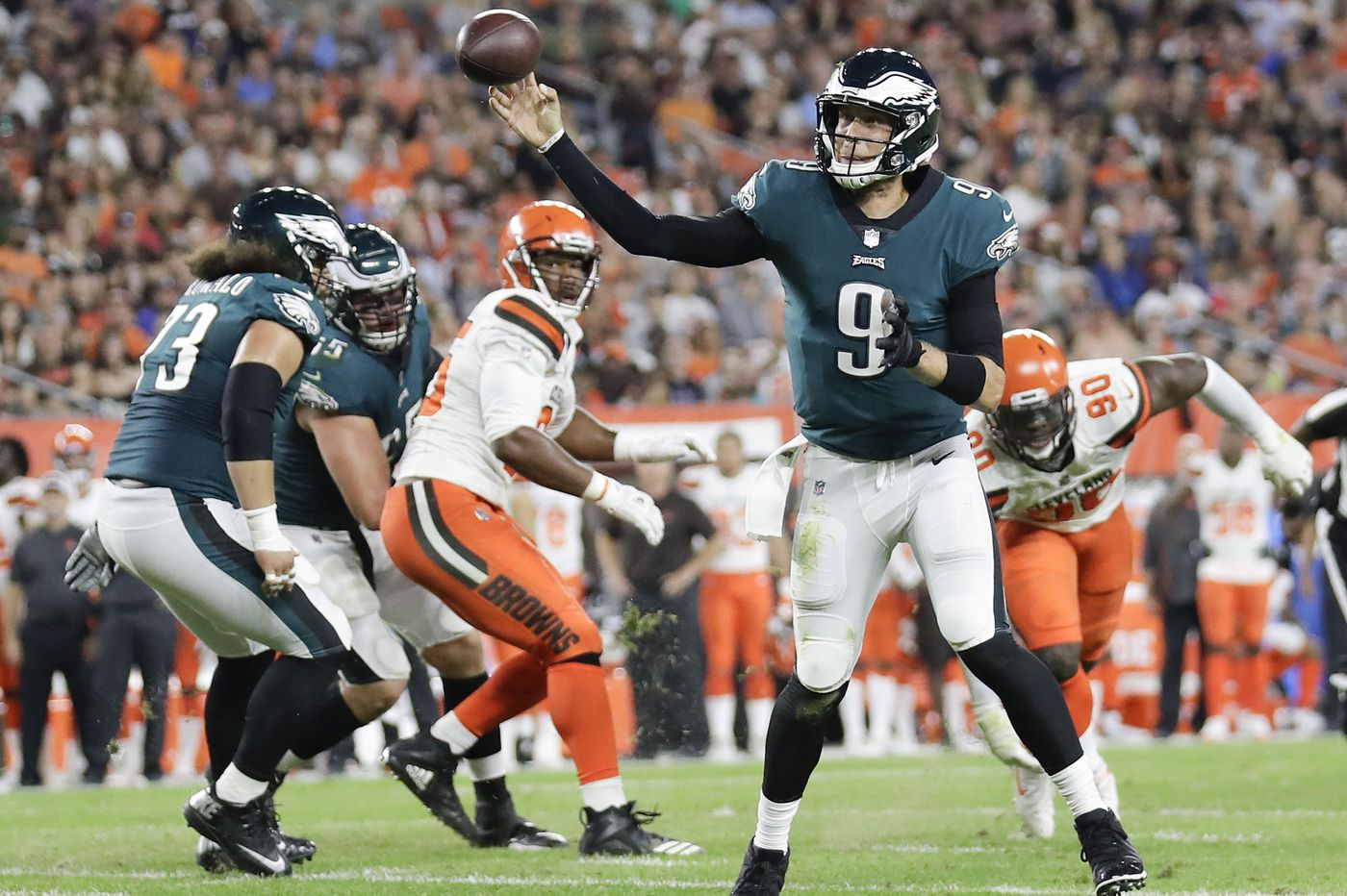 Nick Foles underwhelms as Eagles lose to Browns in preseason | Marcus Hayes