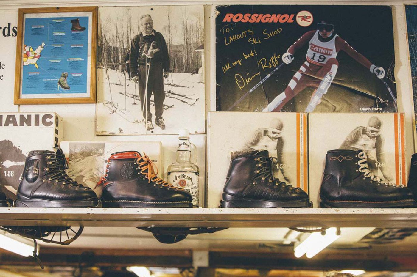 From skiiers to politicians, everyone heads for America's oldest ski shop