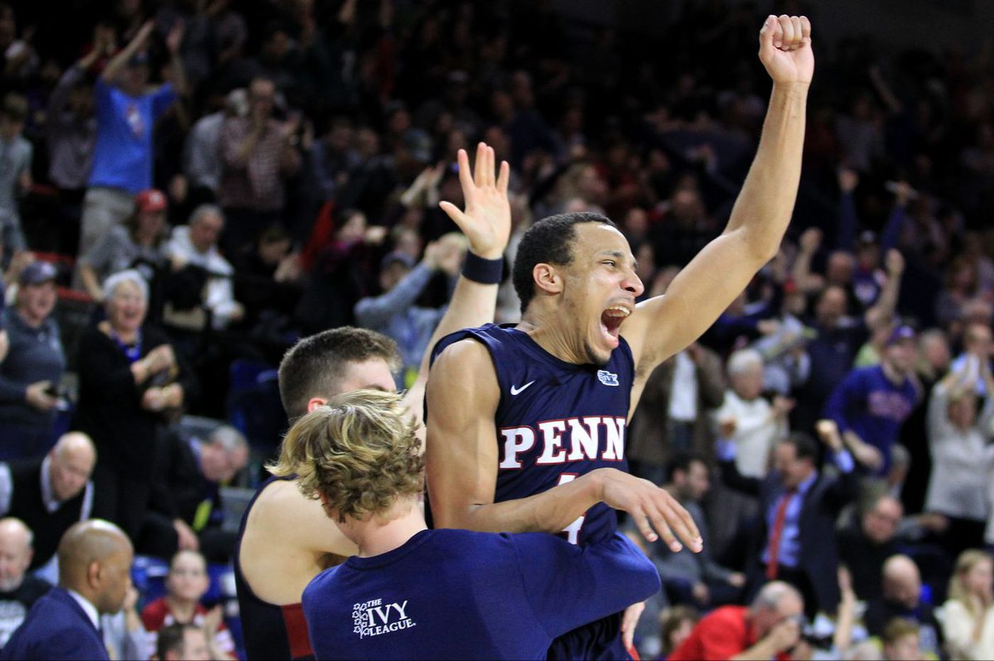 Penn beats Harvard to assume sole possession of first place