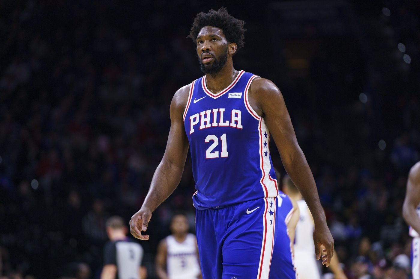Sixers' center Joel Embiid available to play against Indiana Pacers