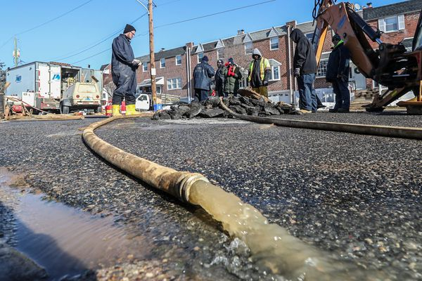 Calls for water-main breaks 'overwhelm' Philly Water Department