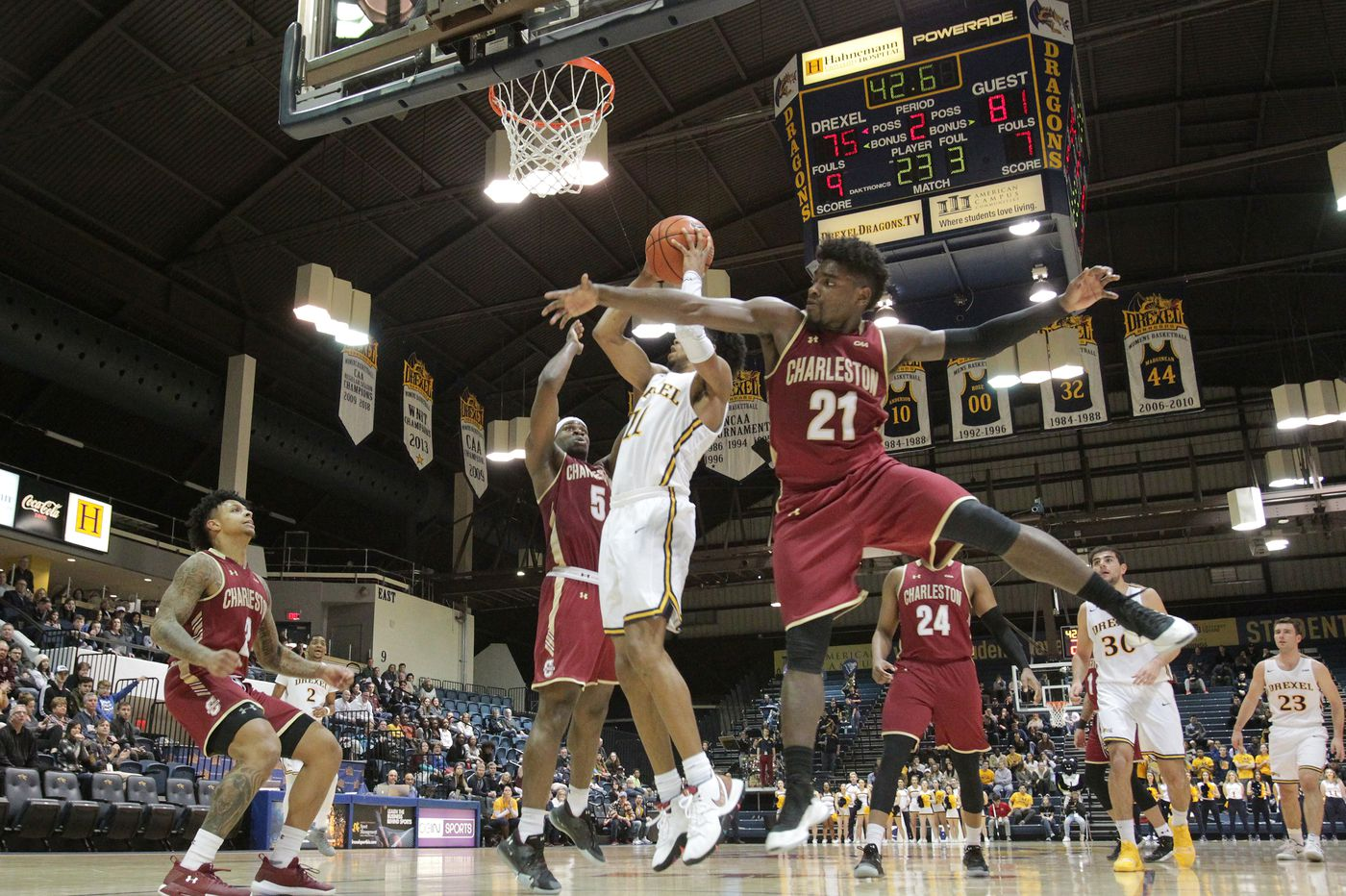 Drexel's season ends with loss to College of Charleston in CAA tournament