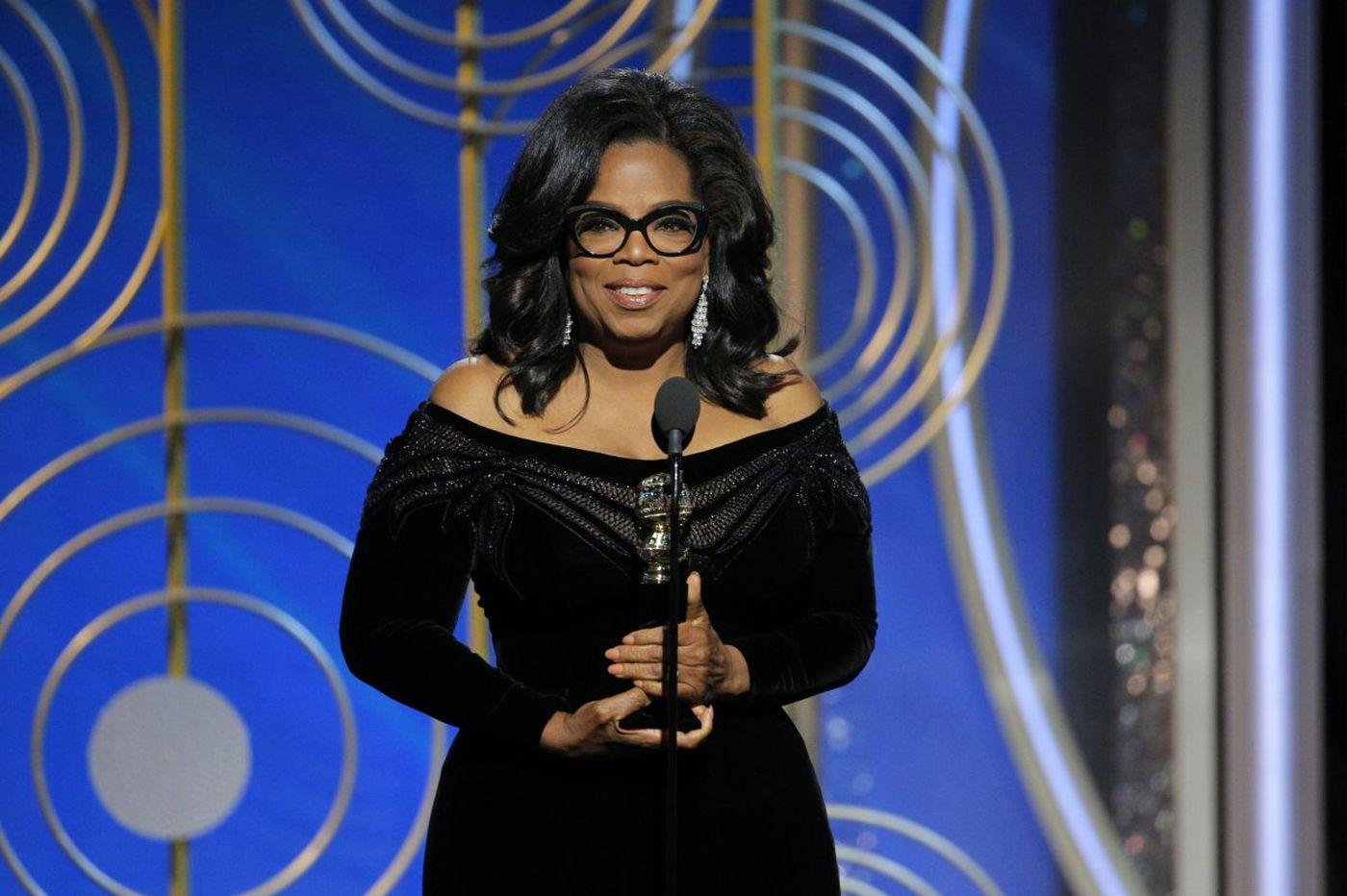 Golden Globes winners: Seth Meyers, Oprah, viewers tired of Trump jokes