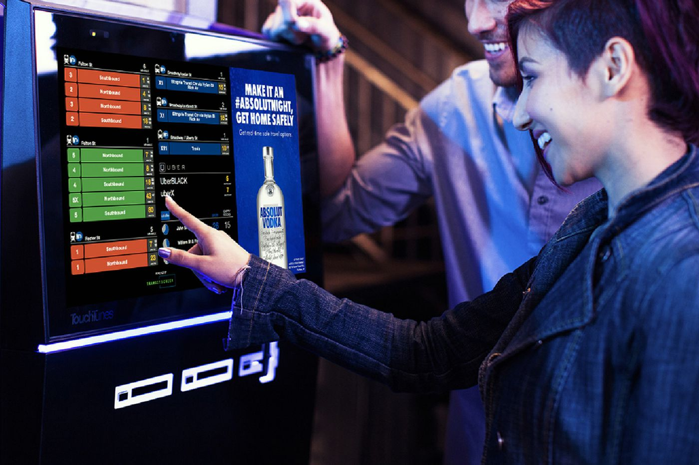 Digital jukebox advises Philly bar patrons on how to get home safely