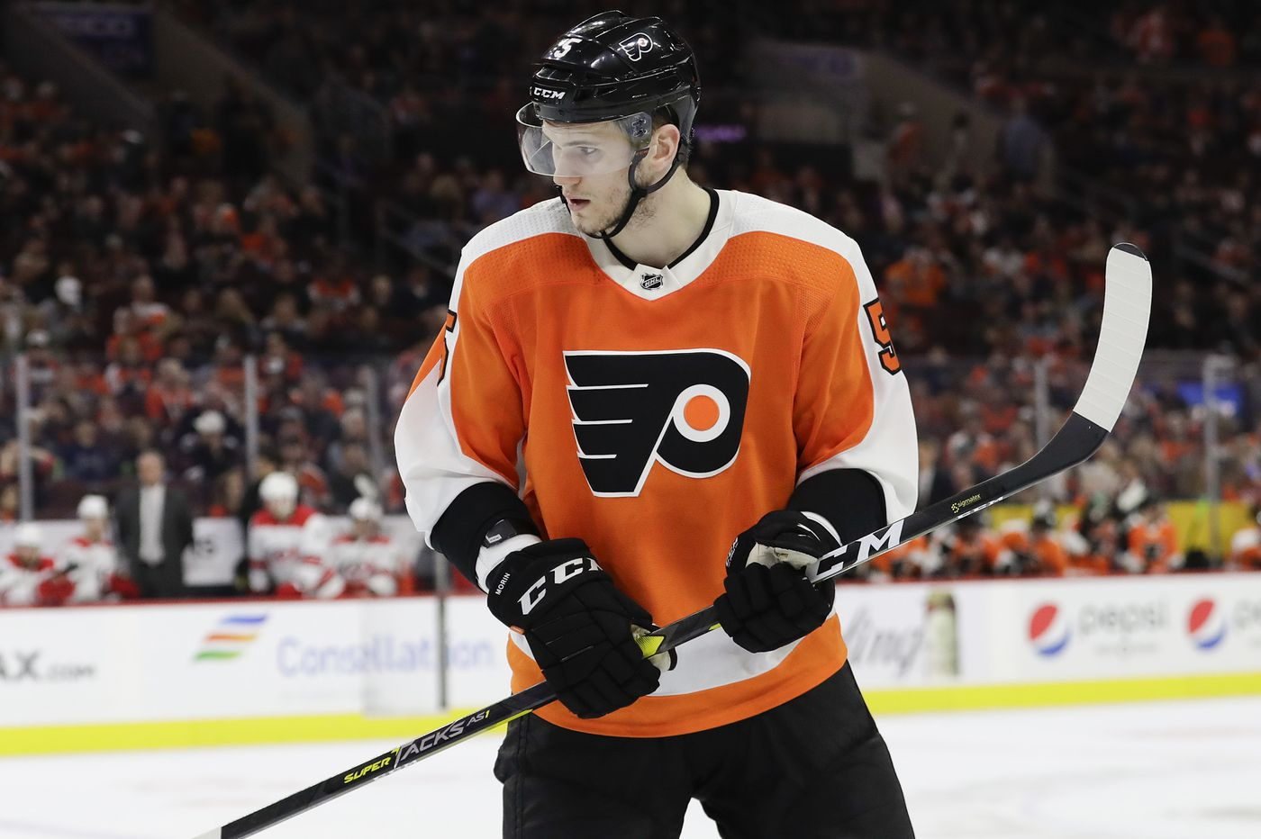 Finally healthy, Samuel Morin looks to make an impact with Flyers