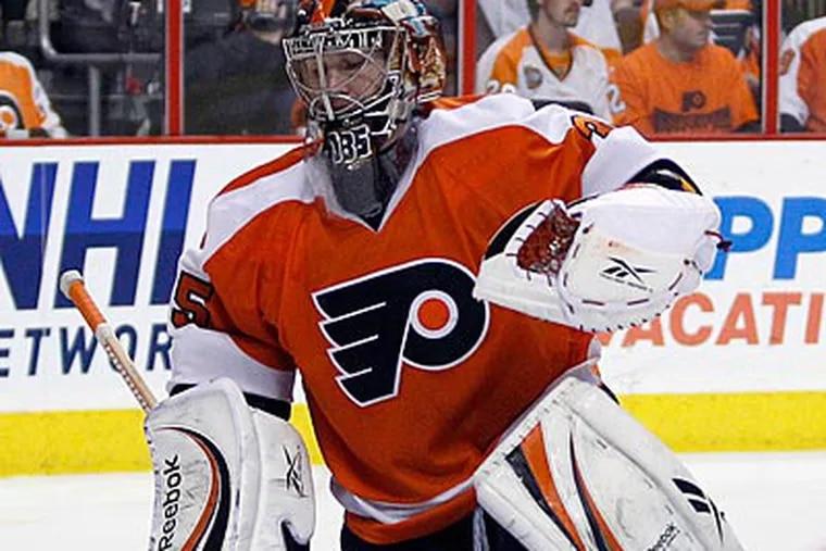 Sergei Bobrovsky played 54 regular-season games for the Flyers last season as a rookie. (Yong Kim/Staff file photo)