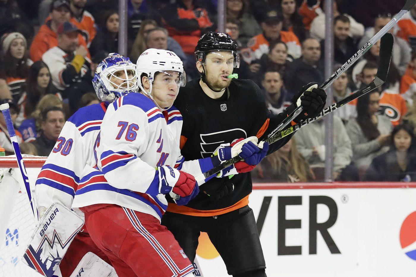 Flyers' James van Riemsdyk returns to Toronto; Alex Lyon sidelined