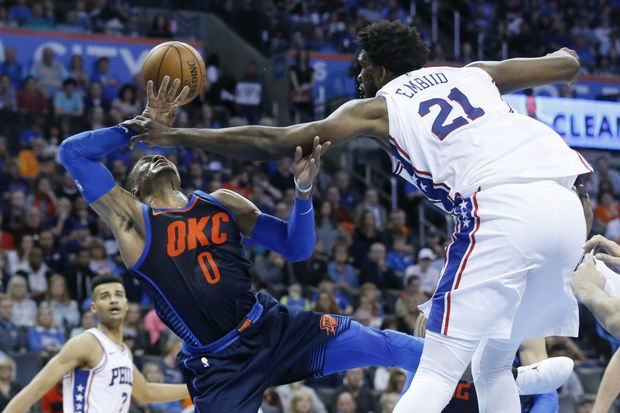 "Sixers' Jimmy Butler expecting a ""dogfight"" in matchup against Oklahoma City Thunder"