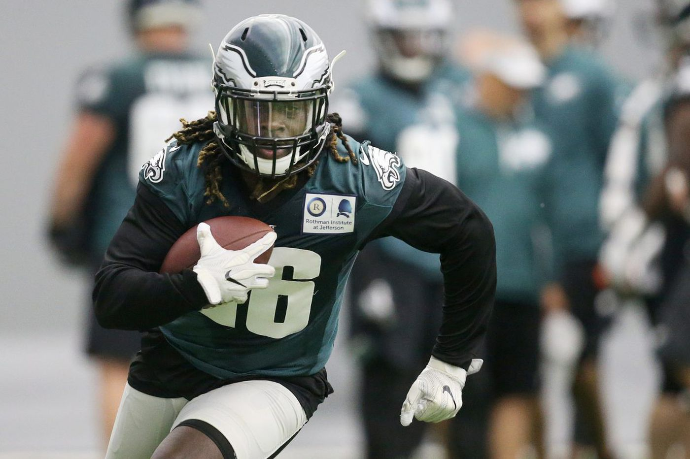Thoughts on busy start of Eagles' OTAs | Early Birds