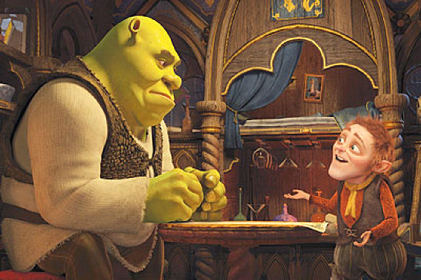 Gloomy Shrek is feeling like a sellout in sequel No. 4