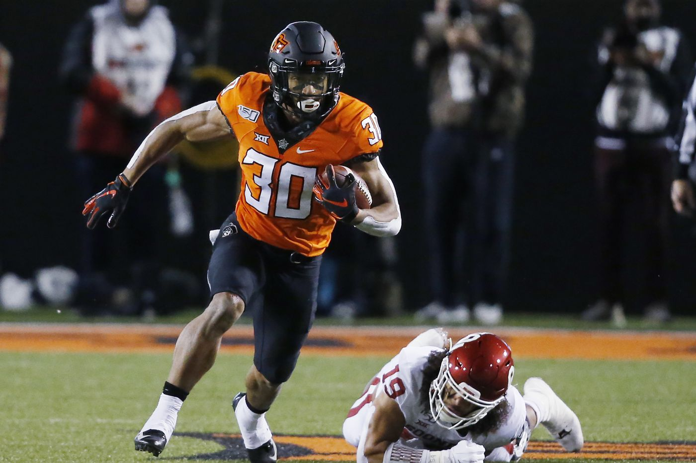 Sports chatter: Oklahoma State RB Chuba Hubbard says foot 'still on the gas' after apology video with Mike Gundy