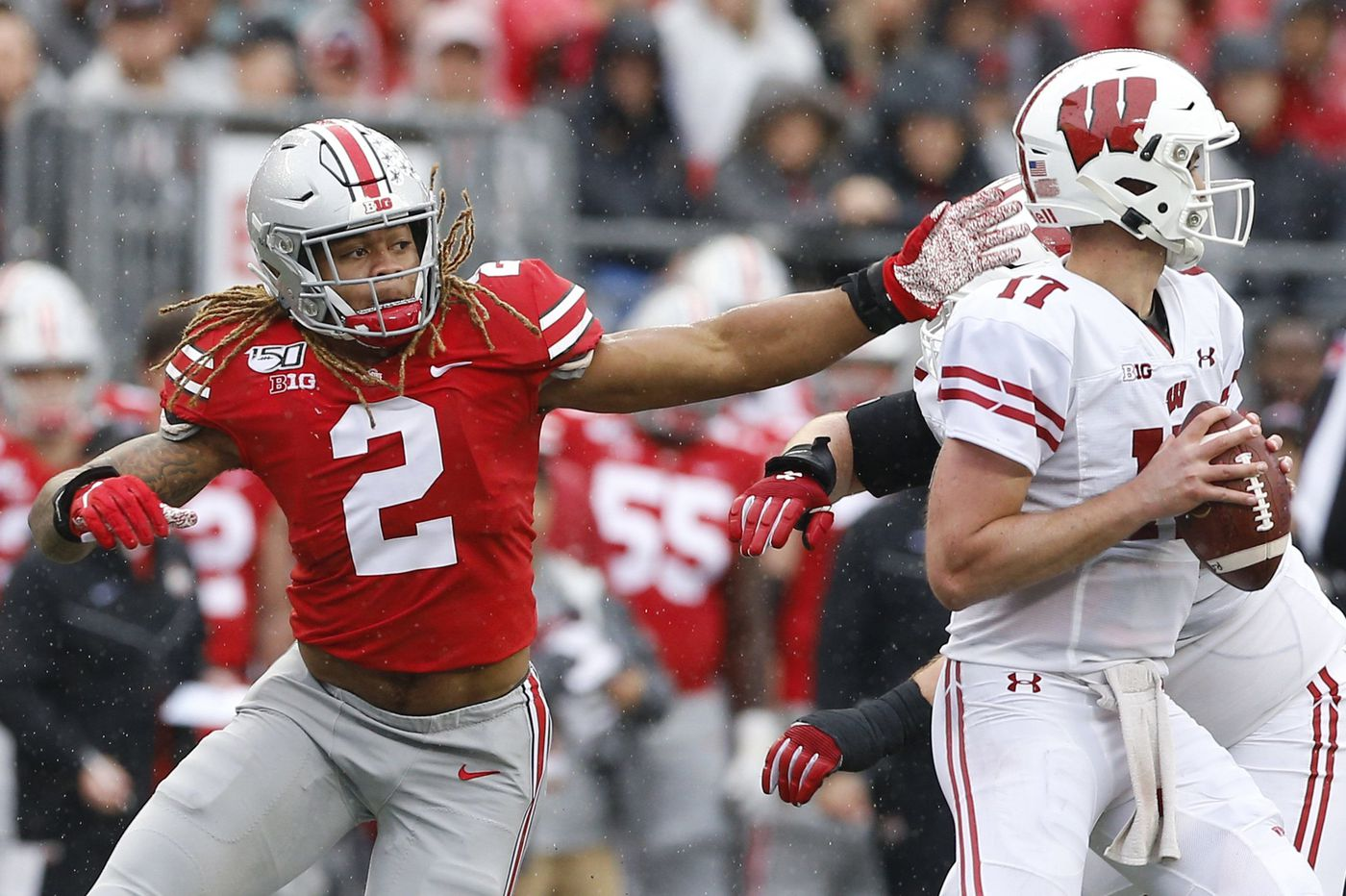 Ohio State's Chase Young well-rested and ready to try to inflict bad memories again on Penn State