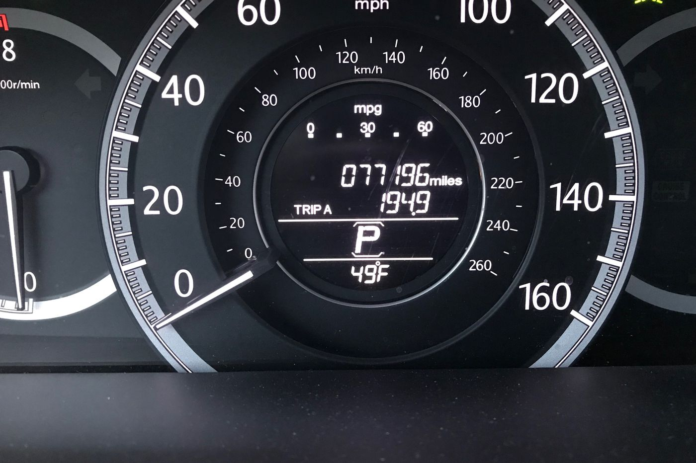 It's freezing, but the car dashboard says it's 50 degrees outside. What's going on?