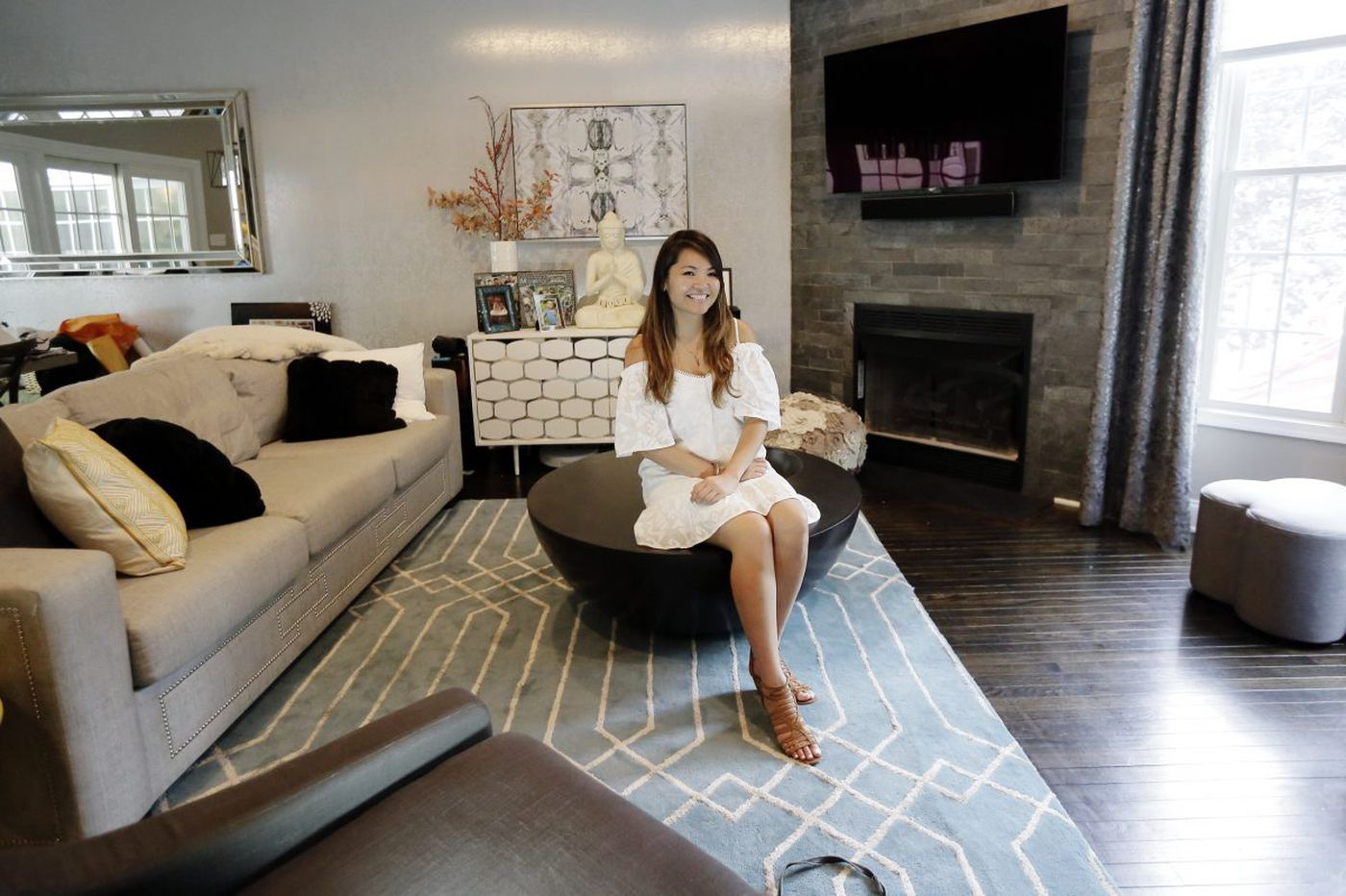 Updated rowhouse fits Philly family's lifestyle