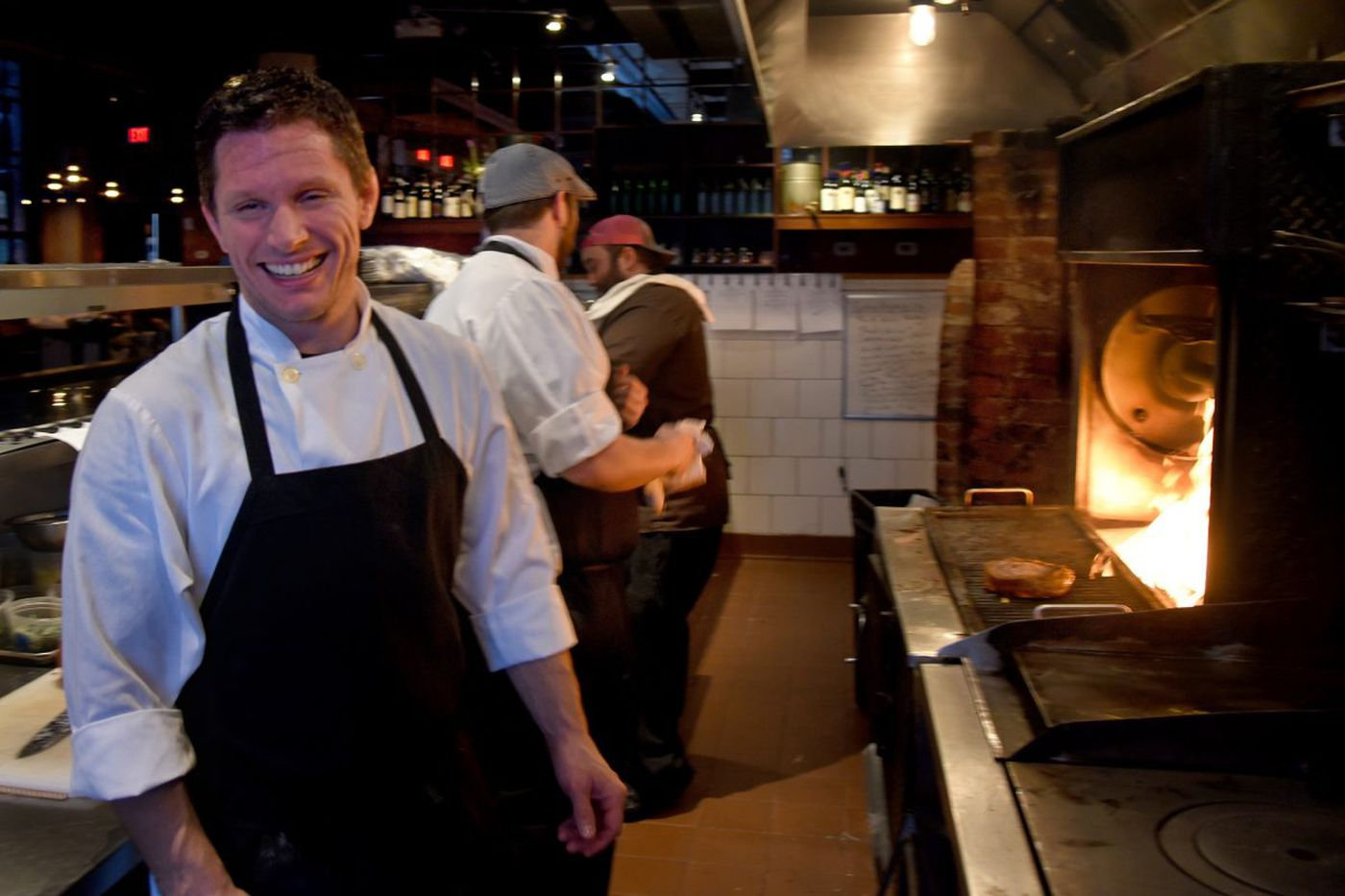Chef Michaud and restaurateur Schulson to buy Osteria from Urban Outfitters