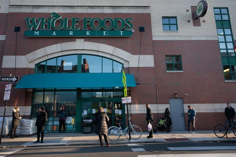 Demand for onlnie grocery delivery is so high that some services and markets are often more than a week behind. Others, such as Whole Foods, have stopped taking on new customers altogether.