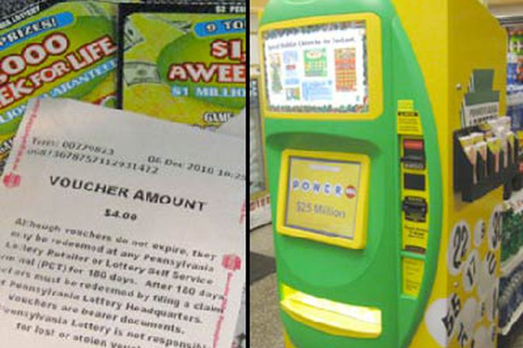 Lottery Machines To Sell Cash Tix At Wawas
