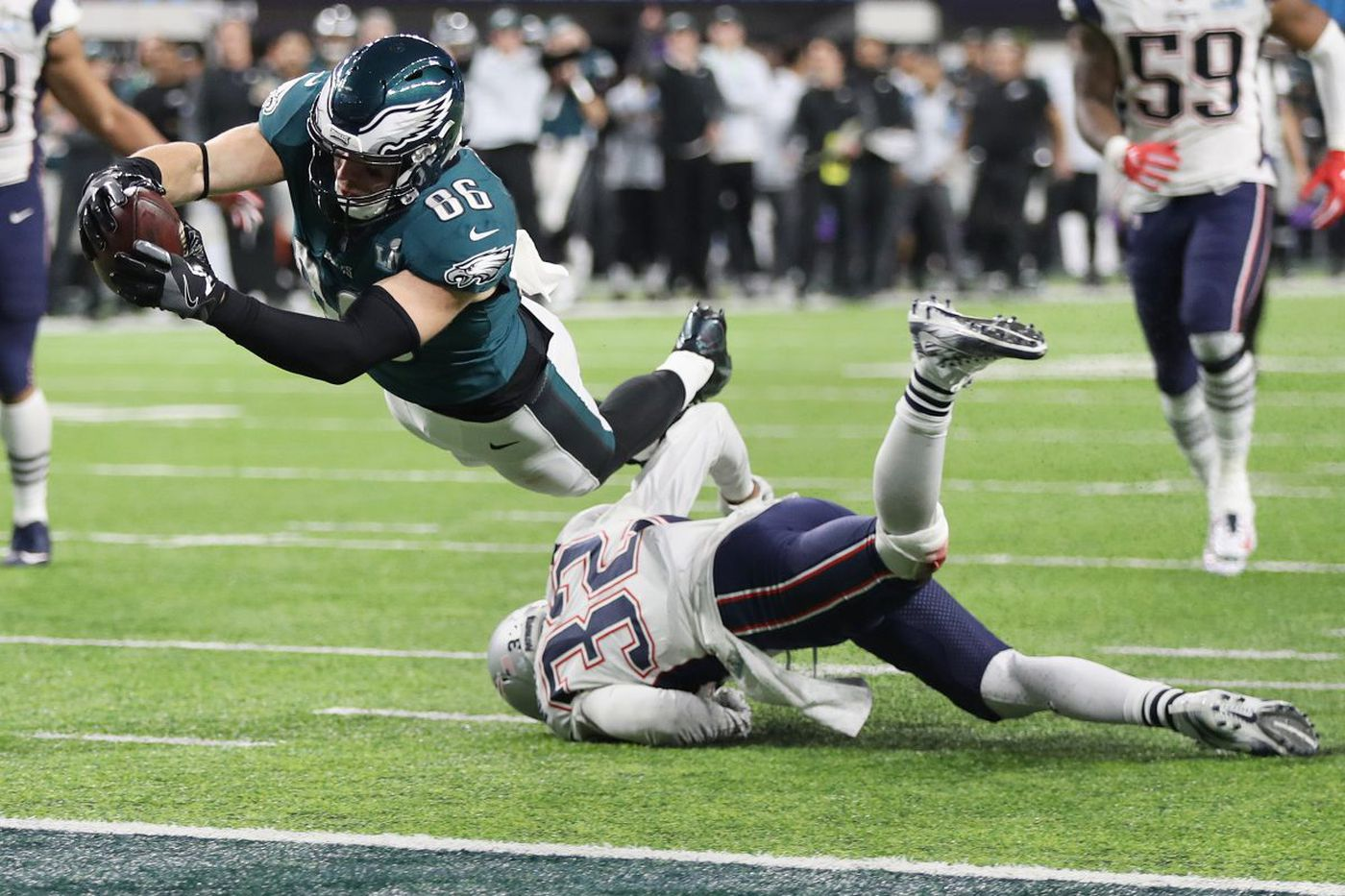 Zach Ertz and the touchdown that won the Eagles the Super Bowl