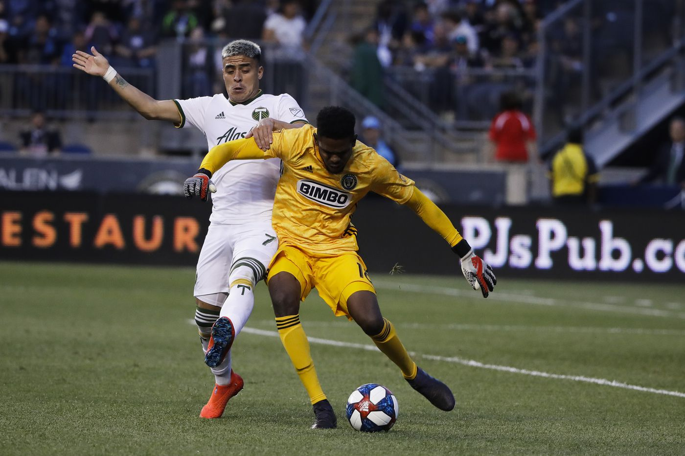 Union lose to Portland Timbers 3-1 as Brian Fernandez scores twice