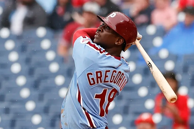 Didi Gregorius is owed $14 million in 2022, the final year of his contract with the Phillies.
