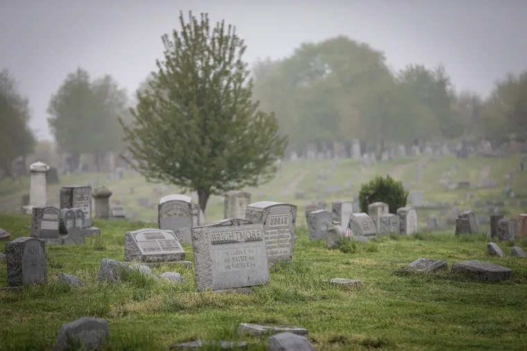 Philadelphia Police found the body of 36-year-old Keith Palumbo, of Drexel Hill, who was reported missing in February, in a crypt at Mount Moriah Cemetery.