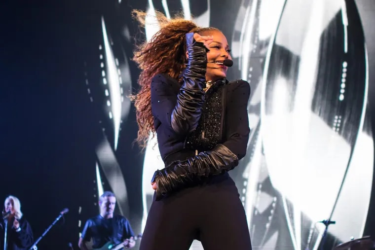 Janet Jackson on her State of the World tour
