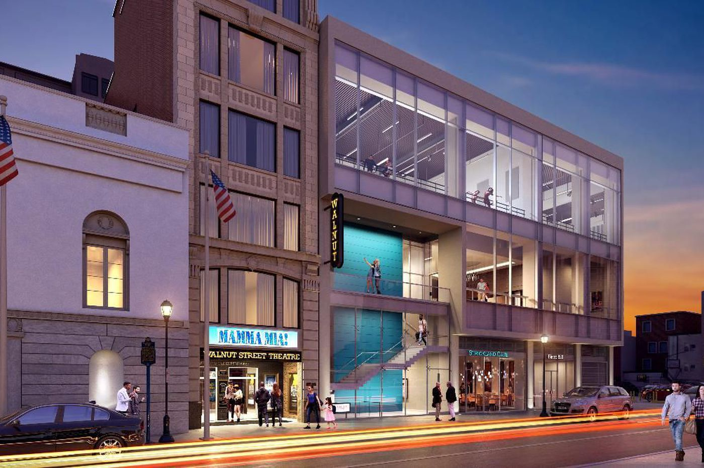 Walnut Street Theatre announces a major expansion, set to start in 2020