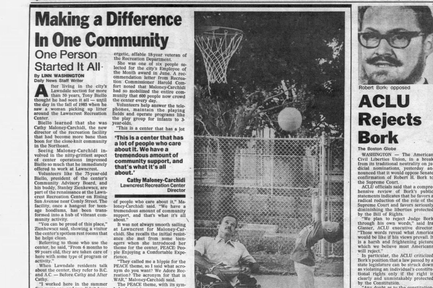 From The Inquirer archives: Volunteering means doing what's needed