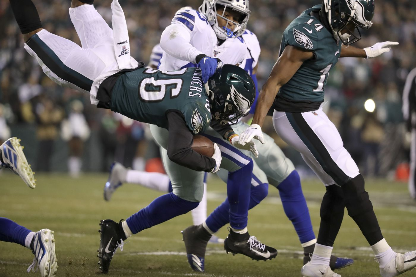 Miles Sanders, Greg Ward and Carson Wentz shine, and other observations from Eagles' win over Cowboys | Marcus Hayes