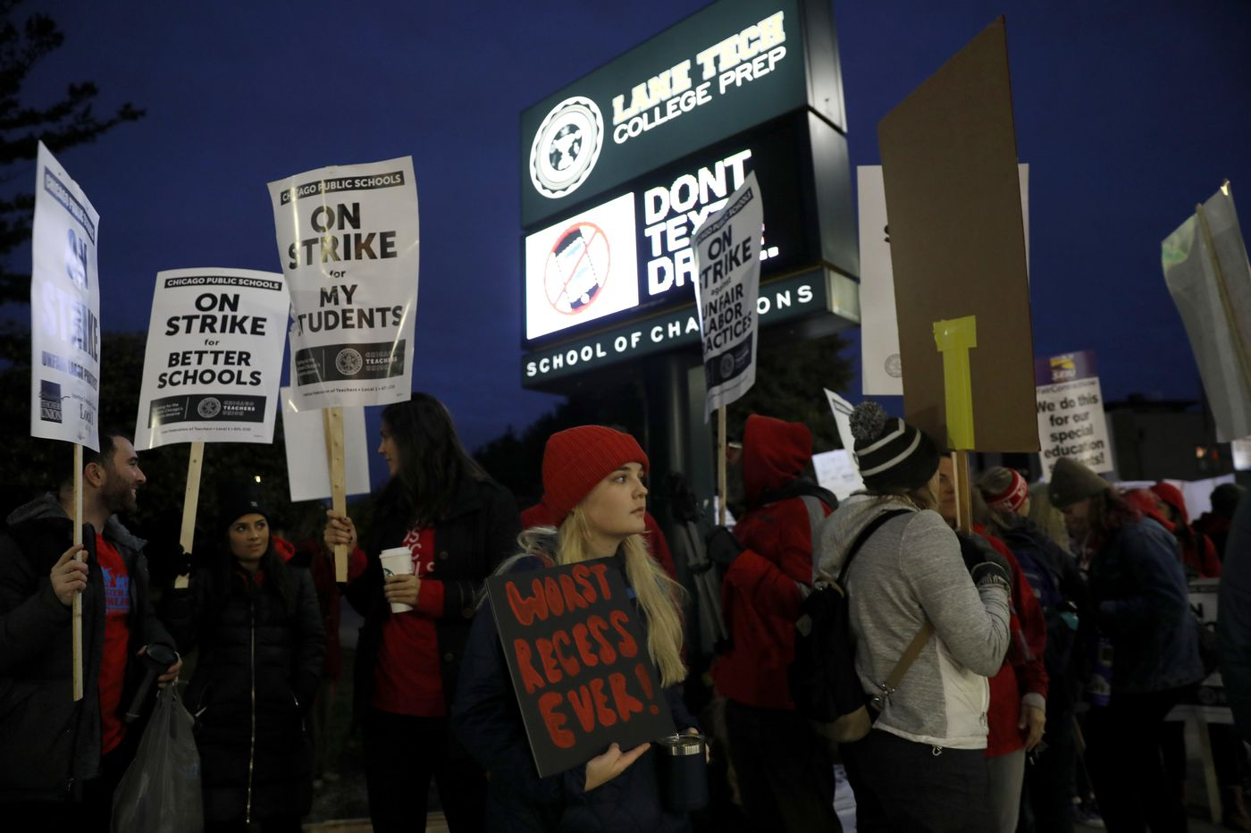 Chicago teachers strike in nation's 3rd largest district