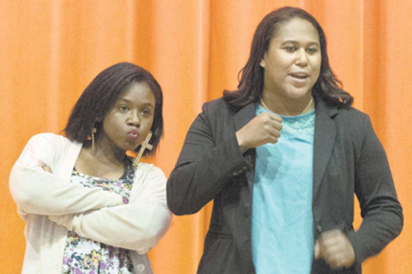 Ben Franklin students put words and staging to their reality
