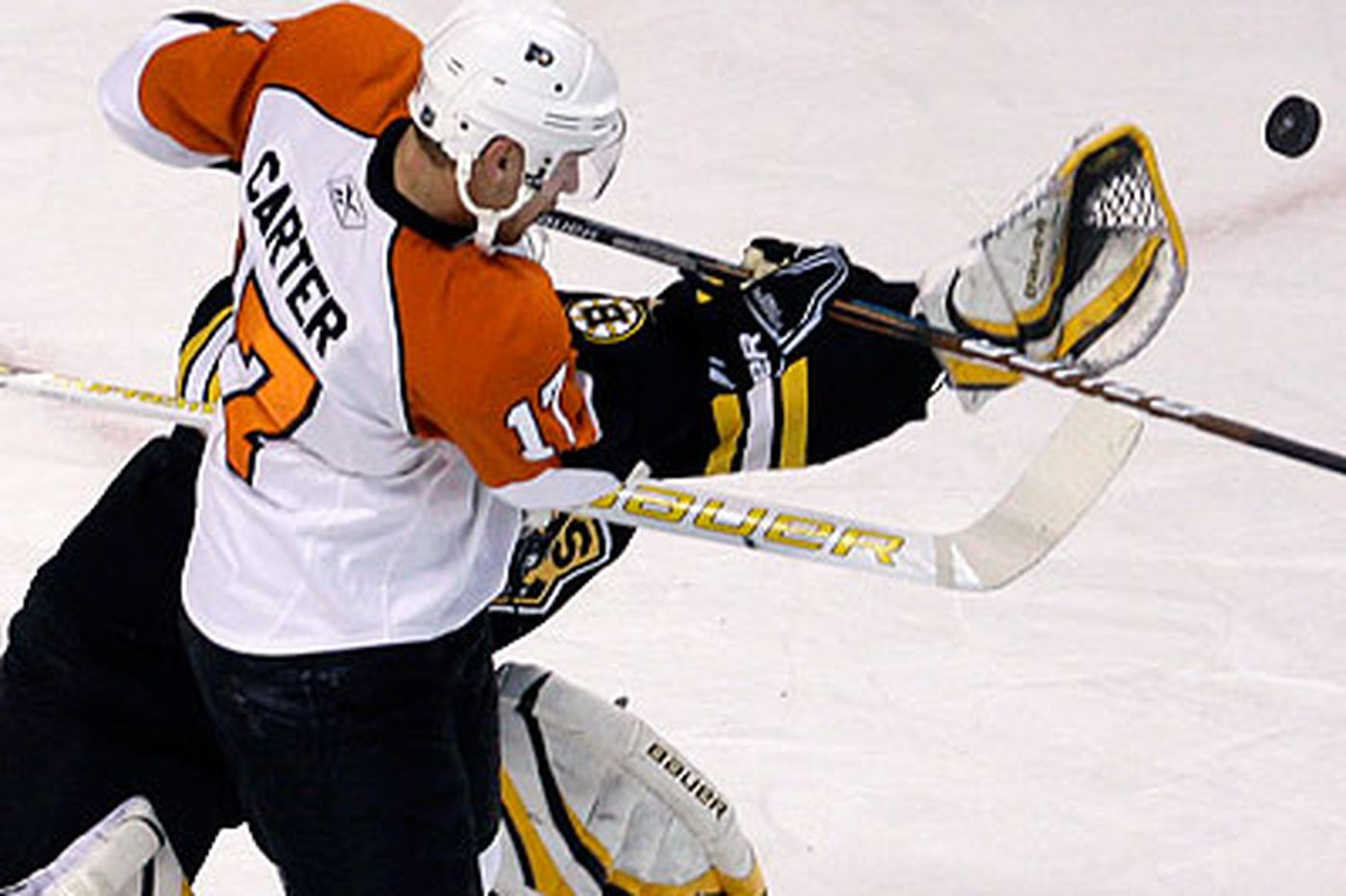 Flyers give 60 good minutes and top Bruins