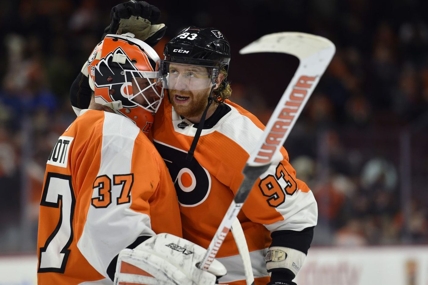 Flyers' report cards at the break: From A-pluses to a D-minus