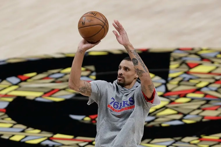 George Hill's tenure with the Sixers is about to end.